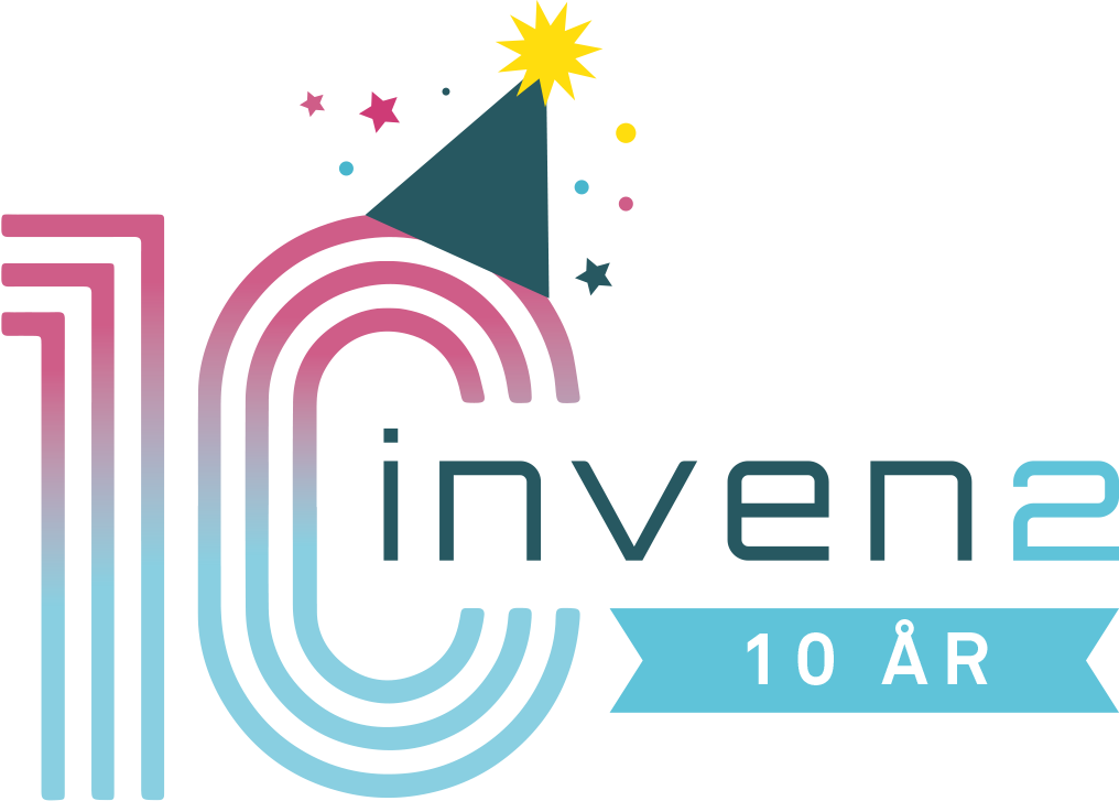 Inven2 10 year logo