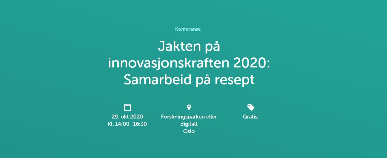 Jakten på innovasjonskraften 2020