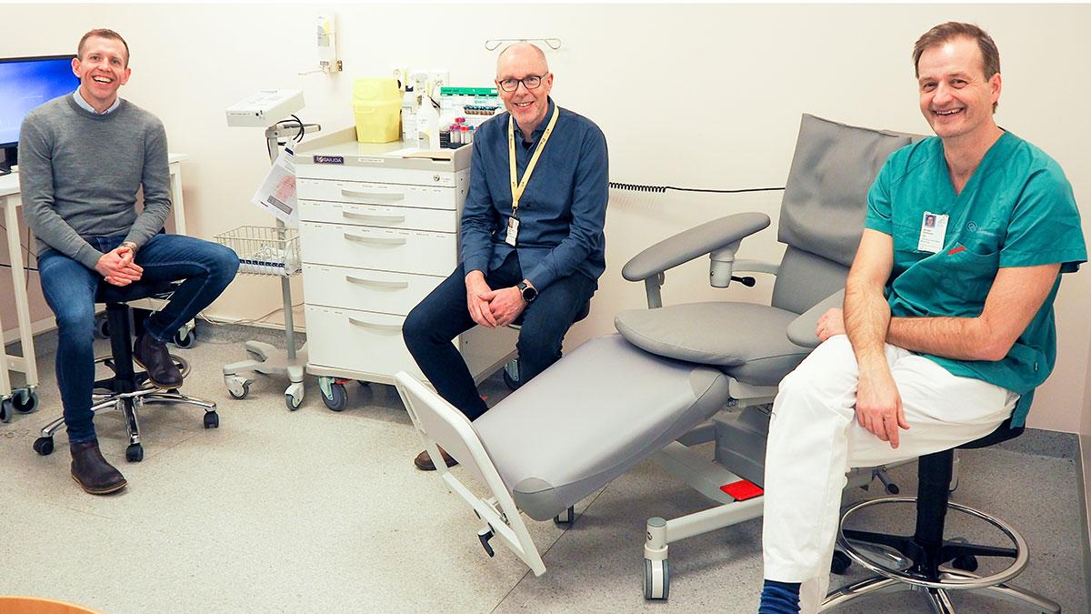 Åpner nytt senter for kliniske studier i KIT